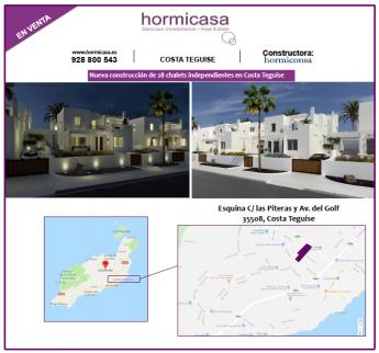Nueva construcción de 28 chalets independientes en Costa Teguise, Lanzarote