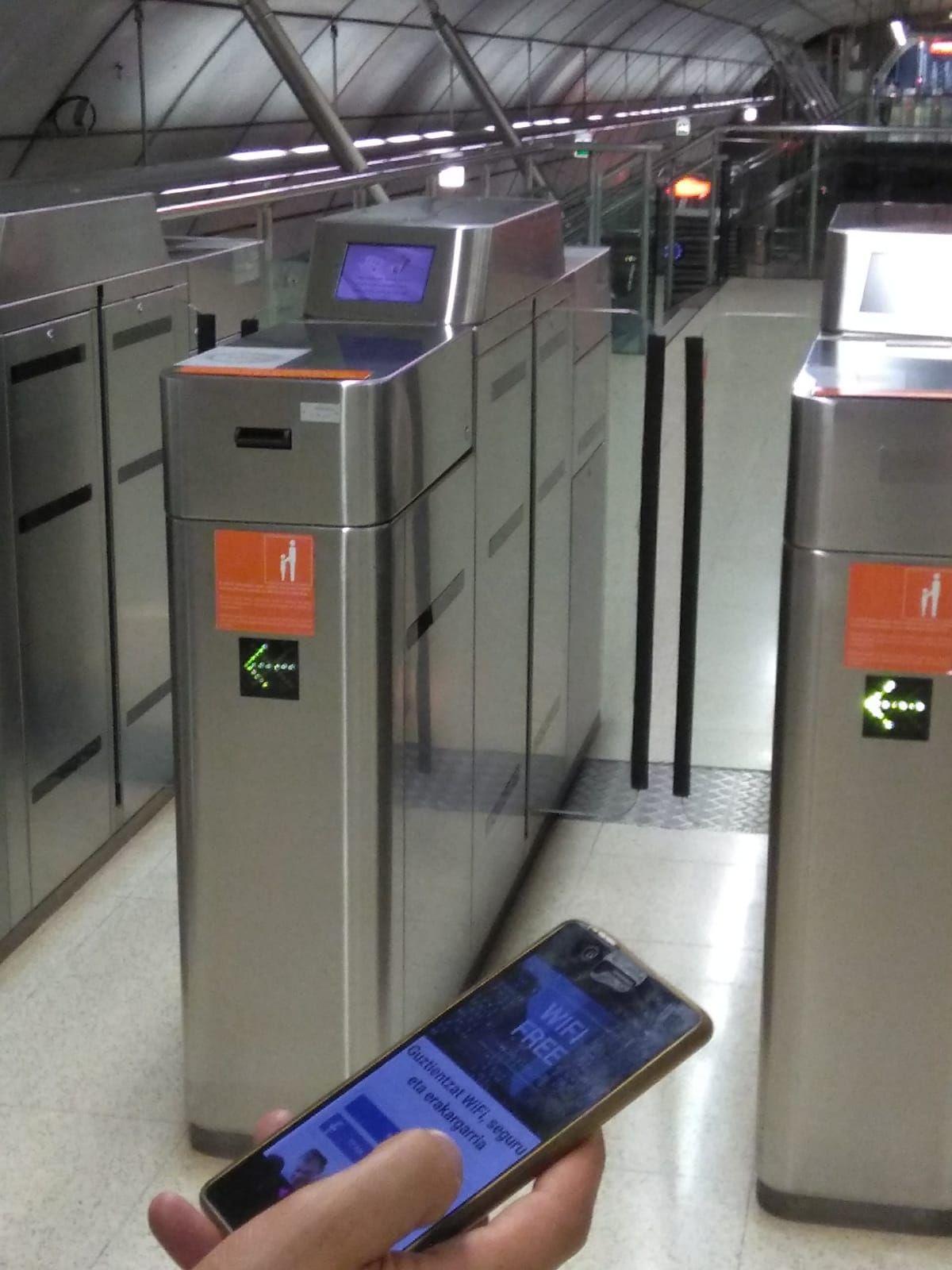 Foto de WIFI Metro Bilbao