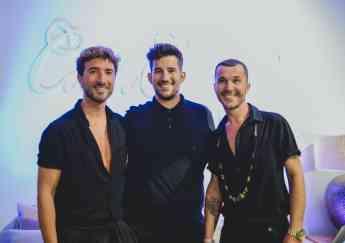 Foto de Oscar Coello, Manuel Casado junto a Manuel Martos