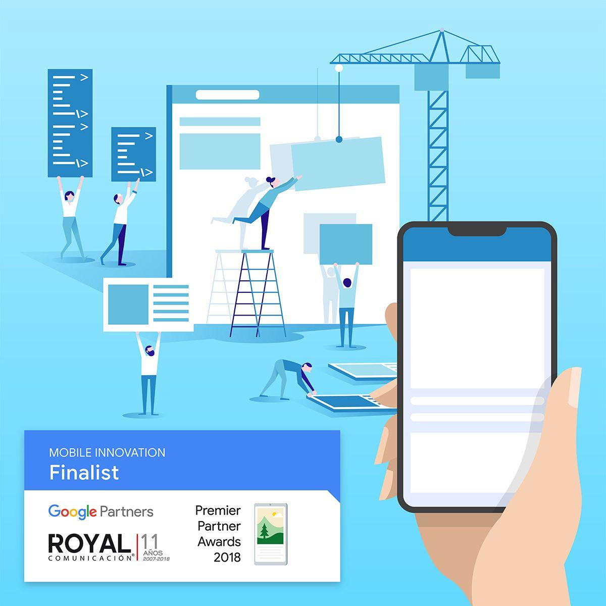 Foto de Royal Comunicación finalista de los Google Premier Partner