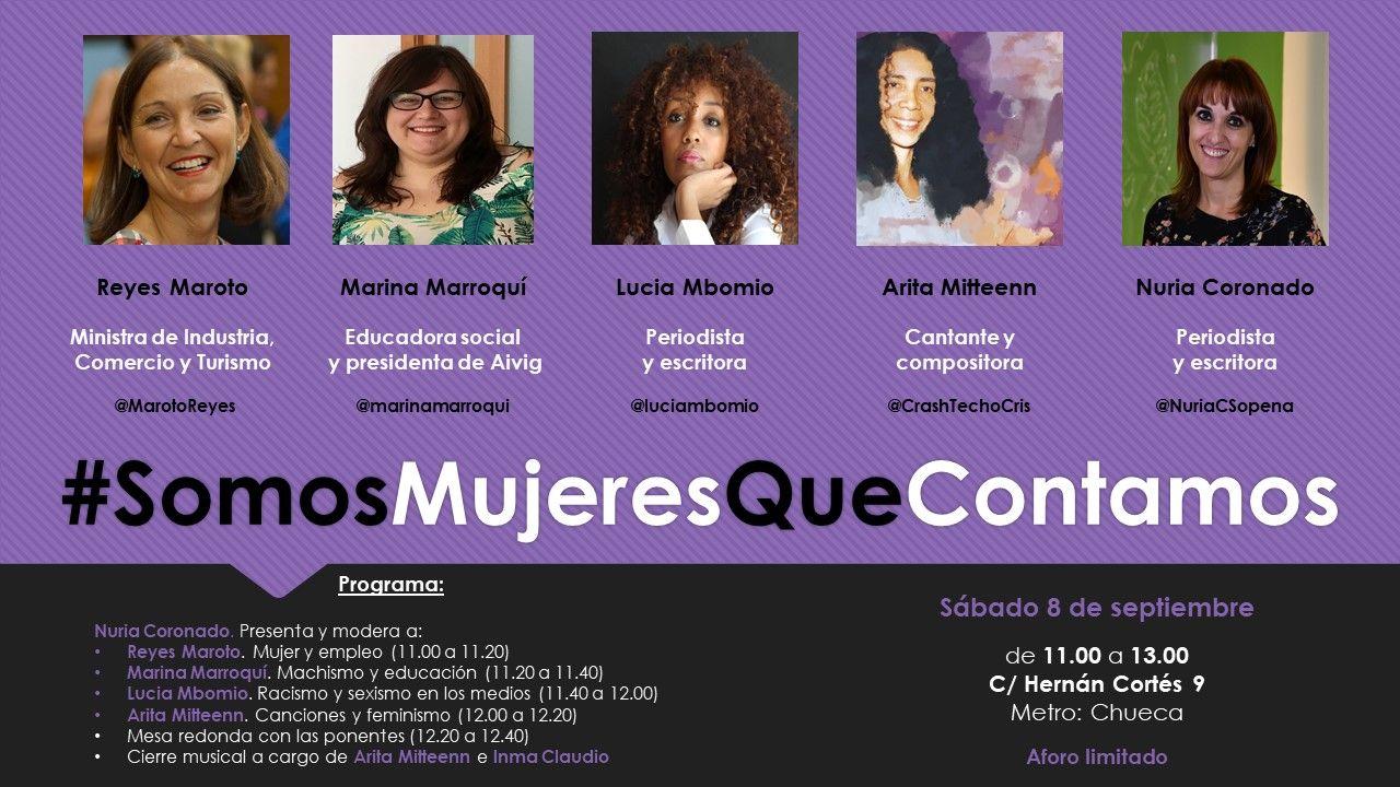 Foto de #SomosMujeresQueContamos