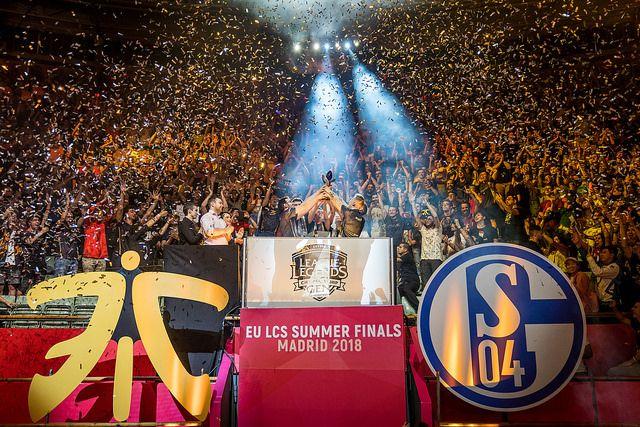 Foto de Fnatic, campeón de la LCS EU