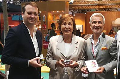 Foto de Sr Pierre Francois - Sra Nelly Rodi - Sr Paco Sáez