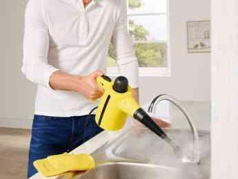 Limpiador a vapor de mano