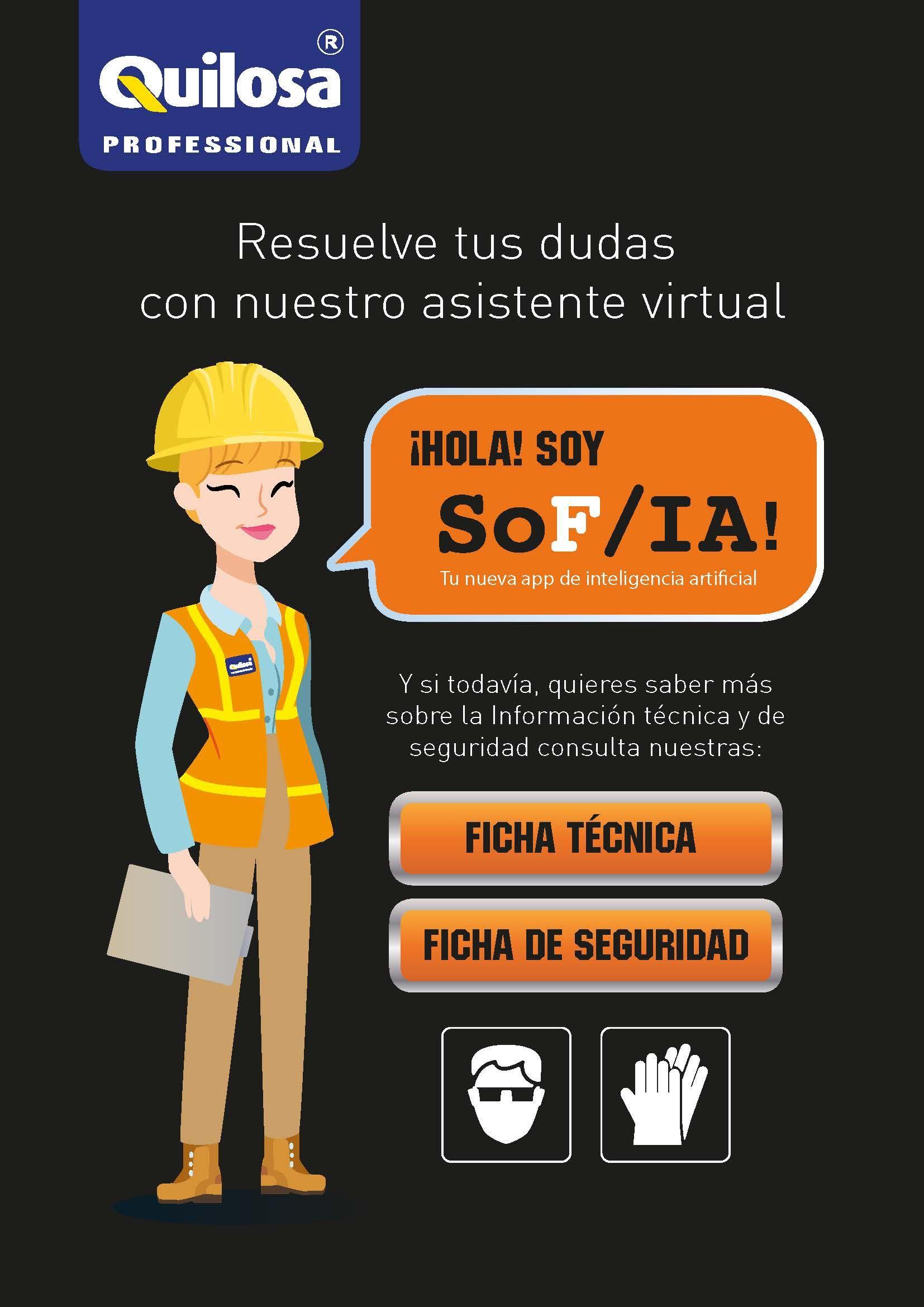 Foto de Sofía, la primera App asistente virtual chatbot del sector