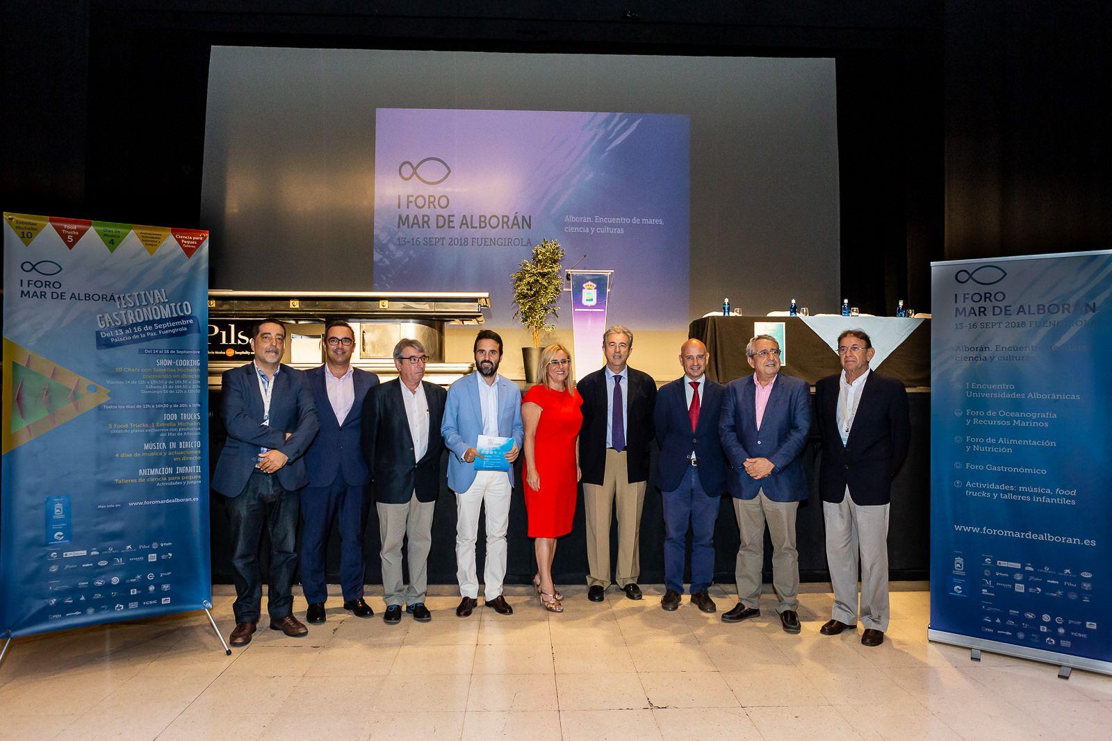 Foto de Foto de familia inauguración Foro