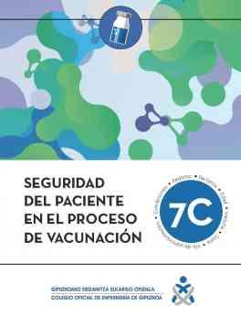 Enfermeras guipuzcoanas publican una guía de 'Seguridad del Paciente en el proceso de Vacunación'