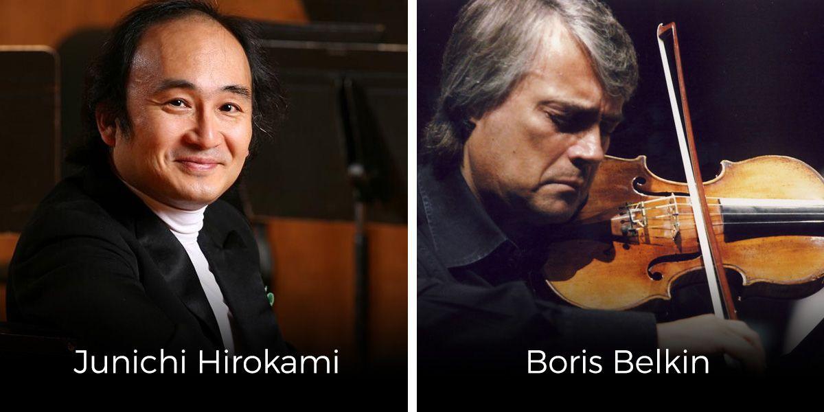 Foto de Concierto de 25 Aniversario de Junichi Hirokami & Boris Belkin