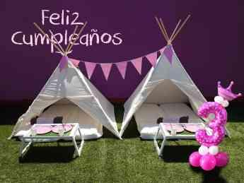 Ideas para organizar una fiesta de pijamas en casa según www.alquilertipisparafiestas.com