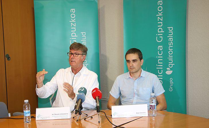 Foto de El neurólogo de Gurutz Linazasoro y Raúl Jimeno, ingeniero