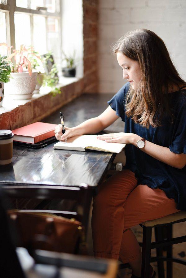 Foto de Los beneficios de la escritura expresiva