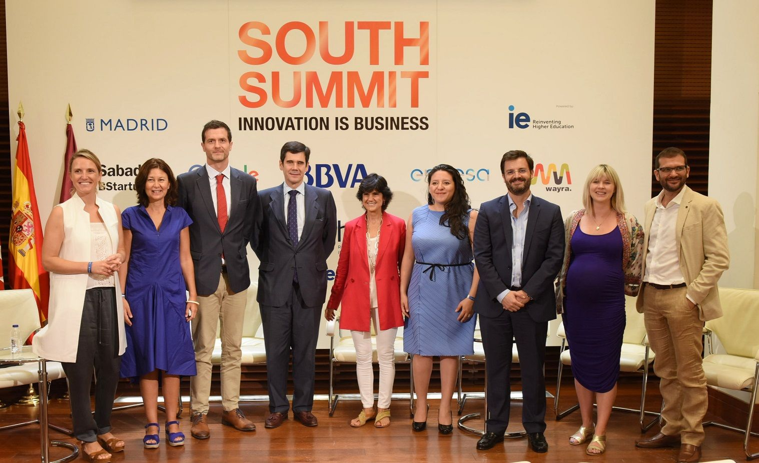 Fotografia Presentación Mapa del Emprendimiento y South Summit 2018