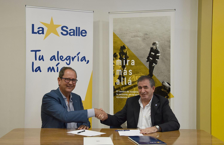 Foto de Acuerdo de colaboración entre Goldenmac e Institución La