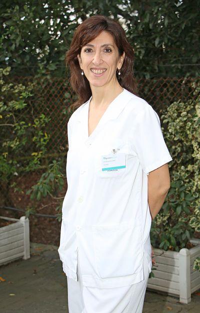 Foto de Vicenta Giménez, psicóloga de la Unidad de Reproducción