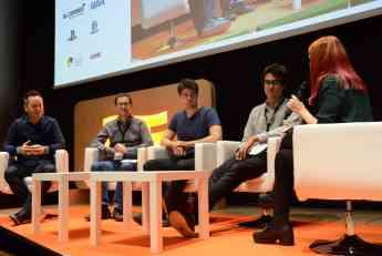 Foto de Charlas y ponencias de desarrolladores de videojuegos y