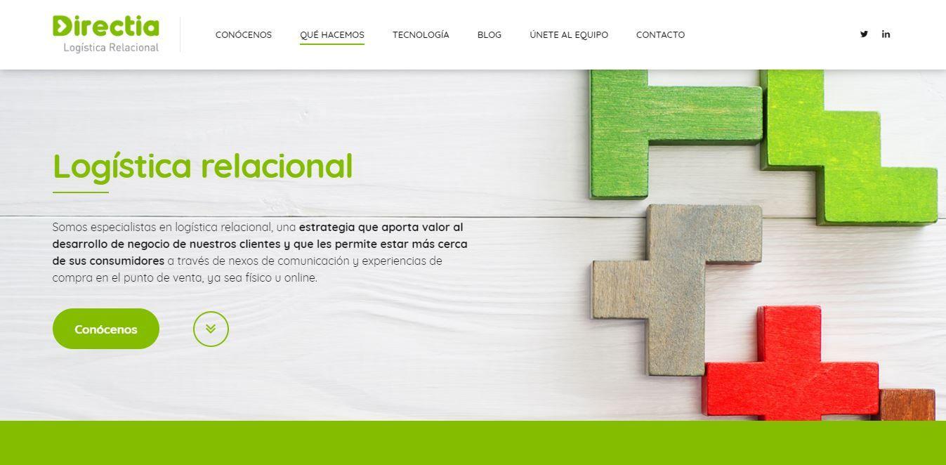 Foto de Nueva página web de Directia