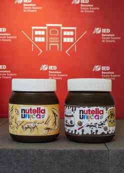 Foto de Diseños ganadores en el hackathon Nutella Unica con IED