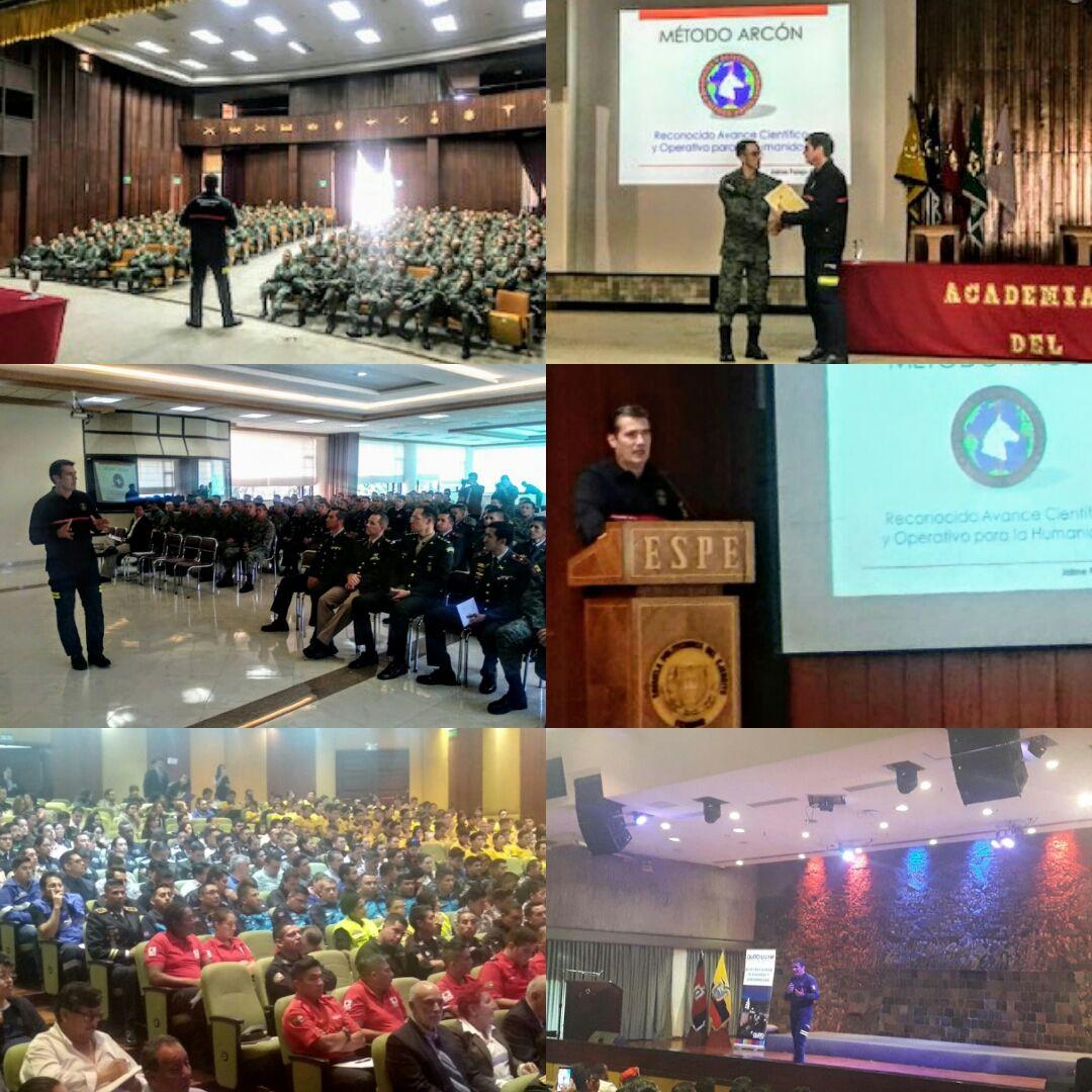 Fotografia Conferencias Magistrales Método Arcón
