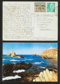 Foto de Postal enviada por John Lennon desde Almería, 1967-1968.