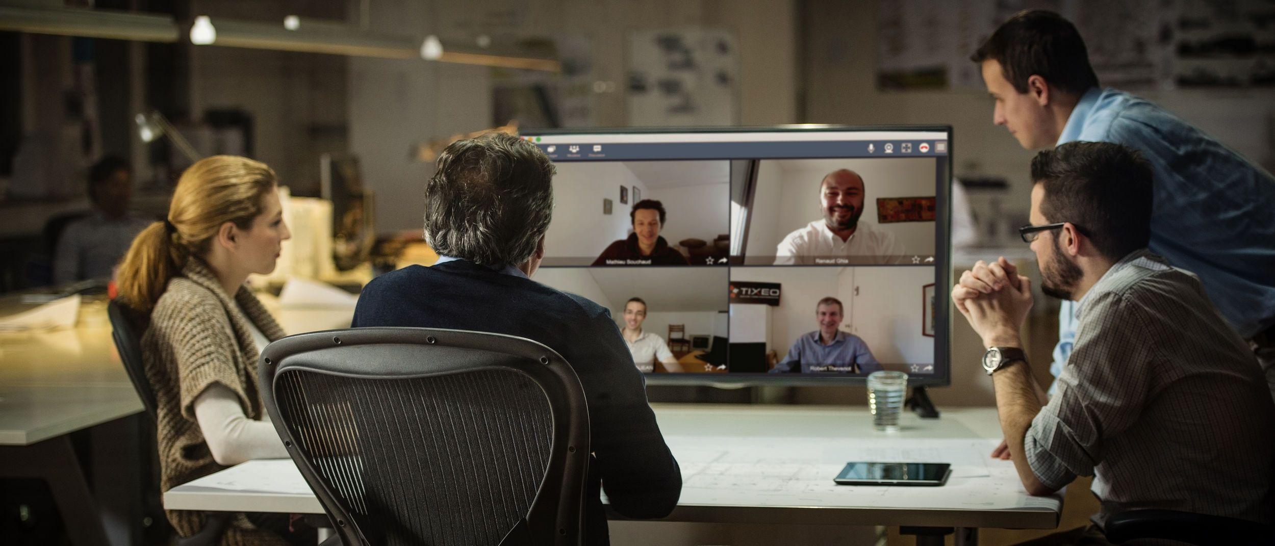 Foto de Main picture videoconference