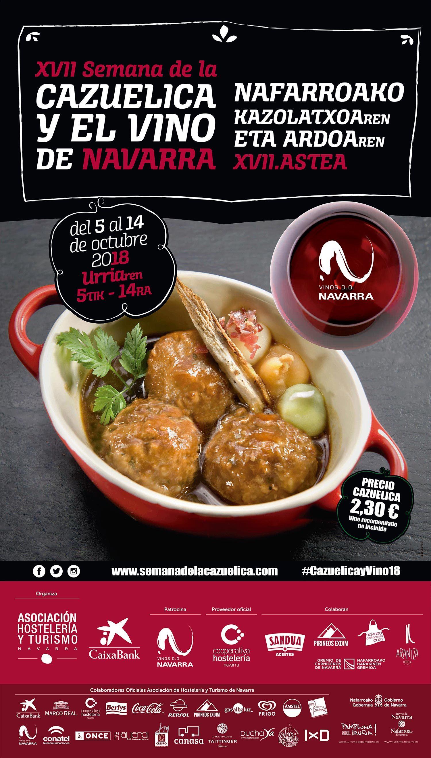 Foto de Semana de la Cazuelica y el Vino de Navarra