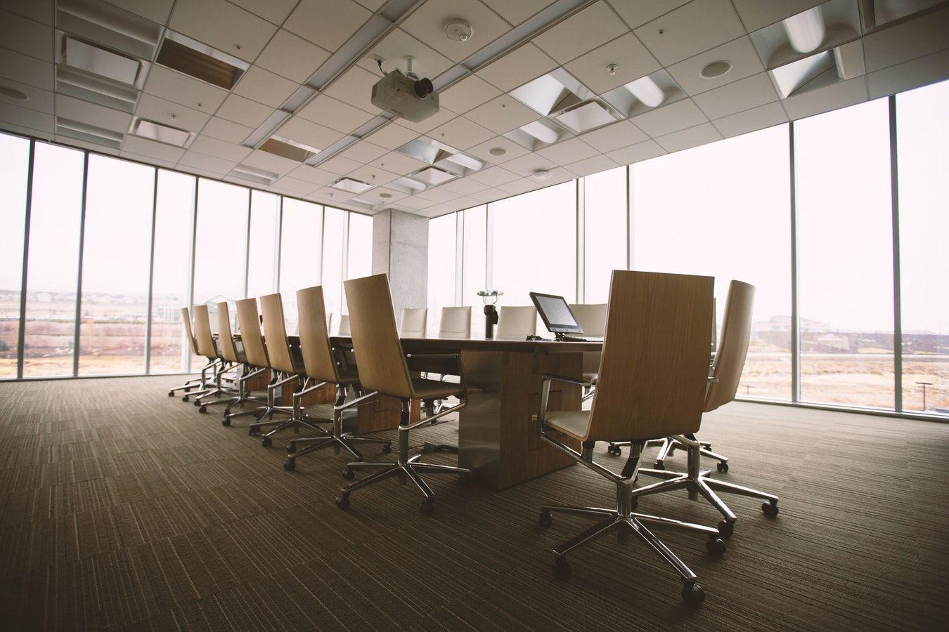 Foto de Sala de reuniones de una empresa.