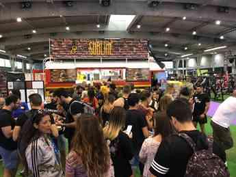 Éxito absoluto de Sublime Dreams Food: hamburguesería gourmet, en la Arnold Classic Europa 2018