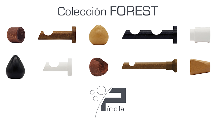 Foto de Colección Barras Madera Forest