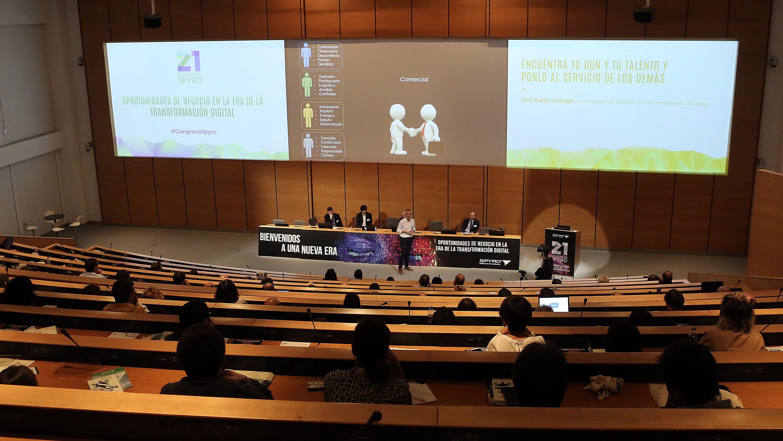 Foto de Imagen general del 21 Congreso SPYRO celebrado esta mañana