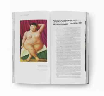 Foto de Libro de estudios de Fernando Botero