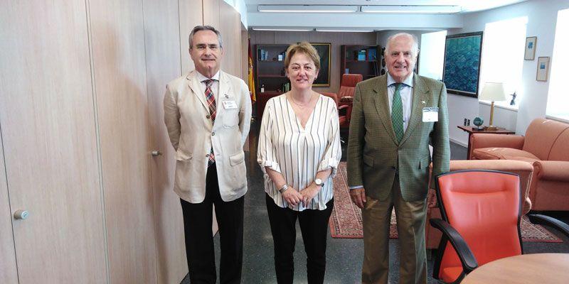 Foto de Reunión con la Secretaria General de Pesca