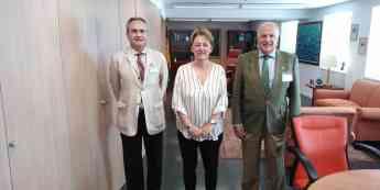 El Clúster se reúne con la nueva Secretaria General de Pesca