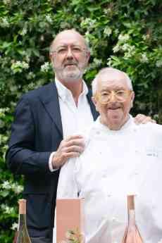 Chivite y sus vinos más emblemáticos ,en la cena homenaje a Juan Mari Arzak, símbolo de la revolución culinaria en España