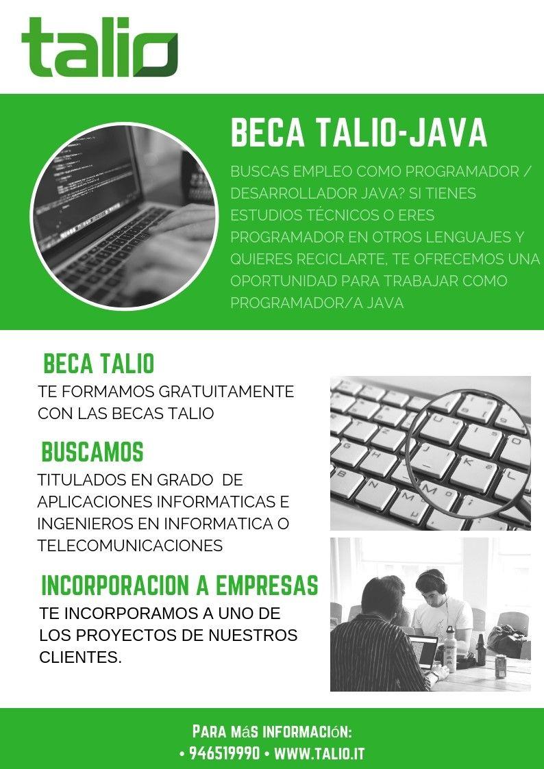 Talio lanza las Beca Java para trabajar como programador