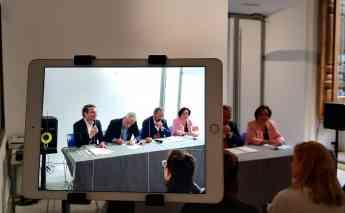 Presentación del acuerdo entre Nieva e IED Madrid