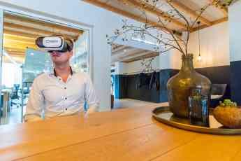Por medio de un tour en realidad virtual, es posible ver la oferta de oficinas en el momento que te convenga