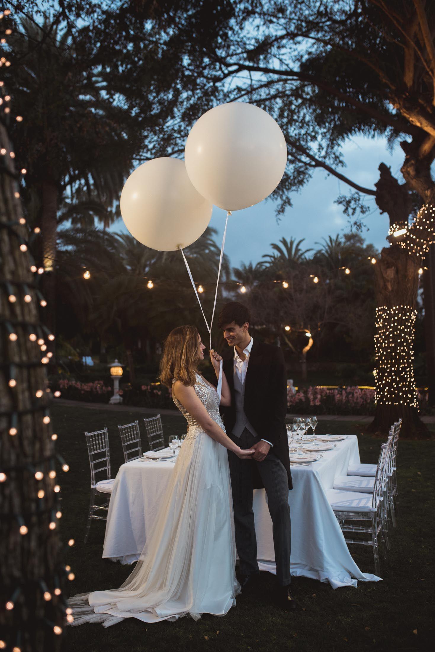 Fotografia'Wedding Glam' del Hotel Botánico invita a las