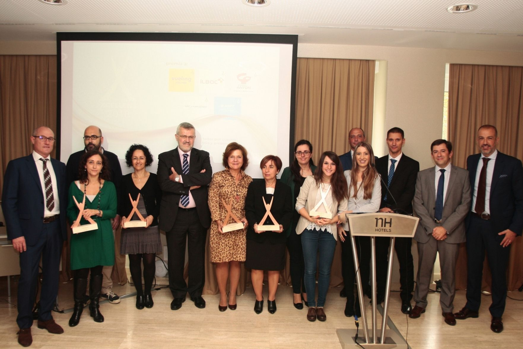 Foto de Premiados Xcellens 2017