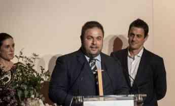 Alex Aymerich y Ruben Huerta de Ideal Standard reciben el premio al producto sostenible del año