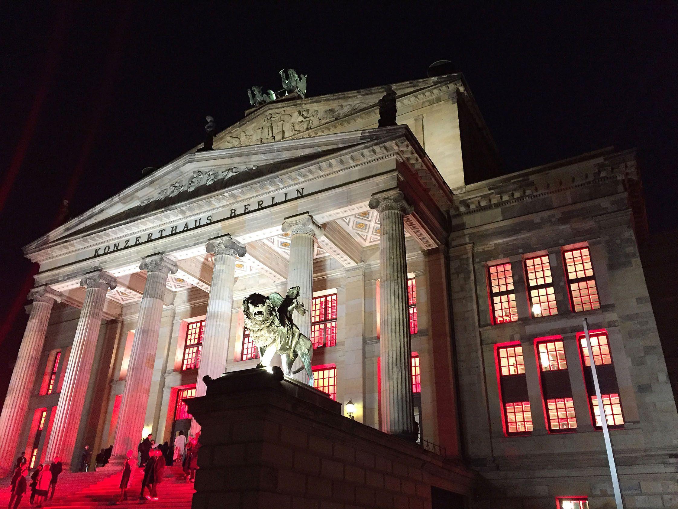 Fotografia Konzerthaus de Berlín