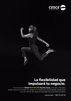 CESCE e Indira saltan juntos en la campaña 'Flexibilidad' para Pay Per Cover