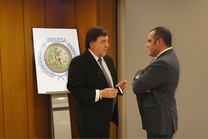 Foto de D. Francisco Sanfrancisco Gil, Presidente de INGESA y D.