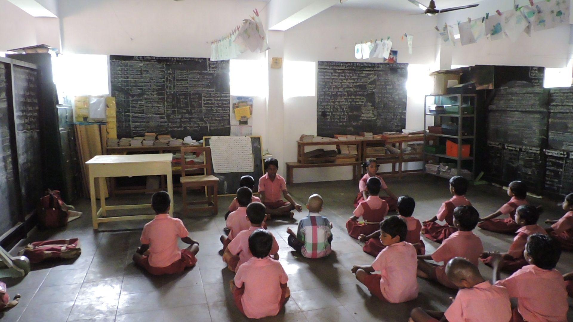 Foto de Escuela donde está realizando el proyecto