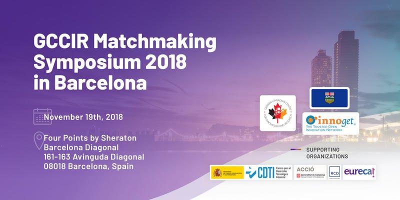 Foto de 2018 GCCIR Matchmaking Symposium en Barcelona