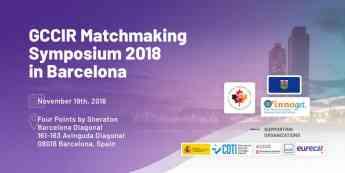 2018 GCCIR Matchmaking Symposium en Barcelona