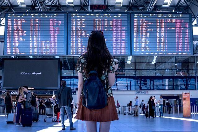 Foto de aeropuerto salidas