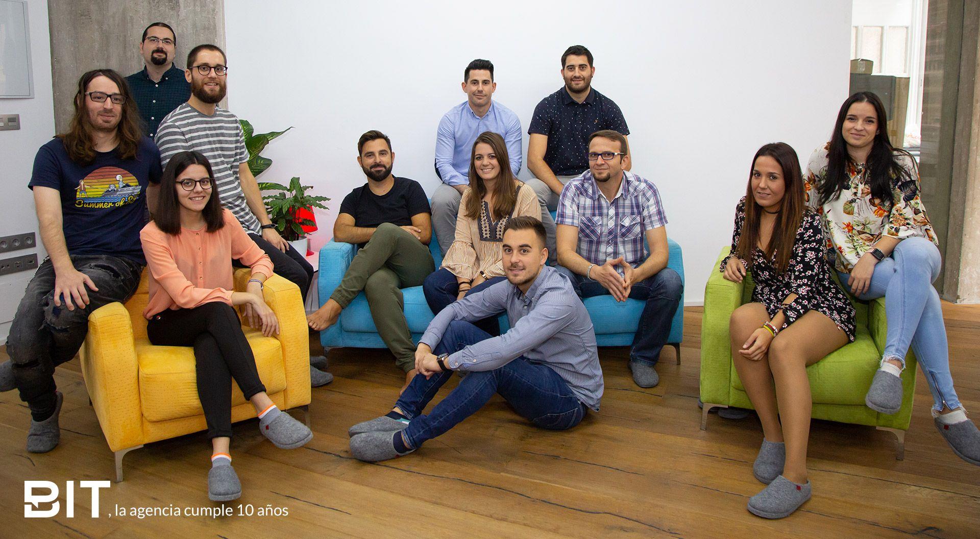 Foto de Equipo Agencia BIT