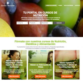 Nace Cursosdenutricion.es, el primer directorio de formación especializado en dietética y alimentación