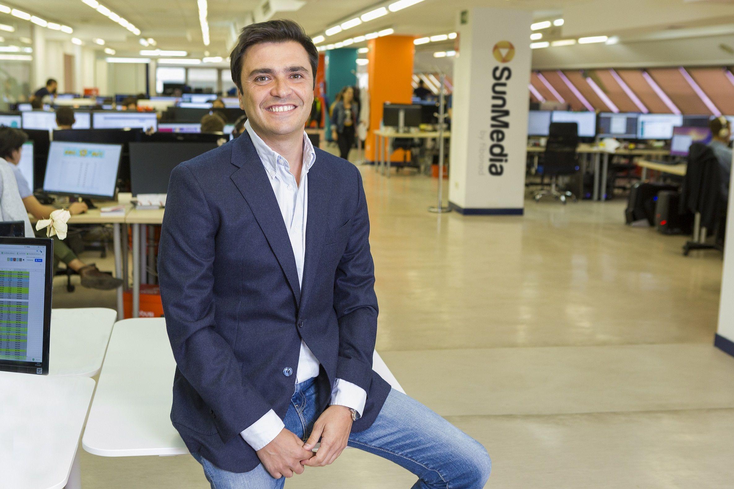 Foto de Fernando García, CEO de SunMedia
