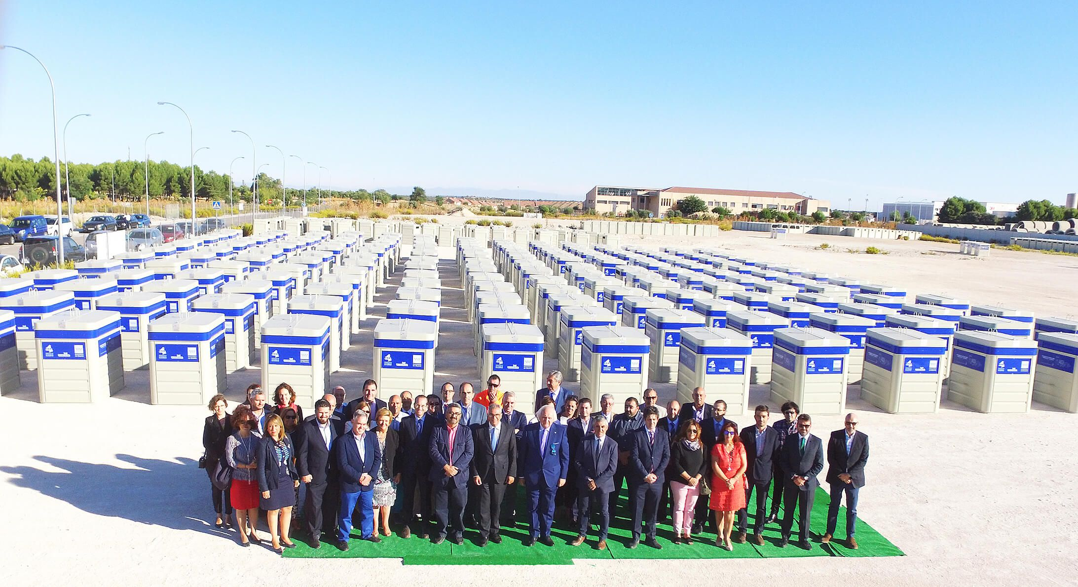 Sanimobel instala 400 contenedores antihurto en 71 municipios de Madrid